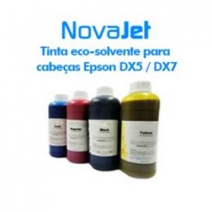Tinta eco-solvente para cabeças Epson DX5 / DX7