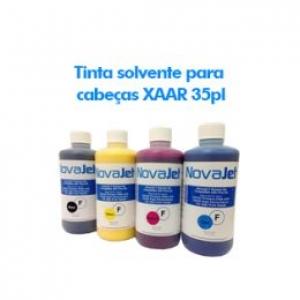 Tinta solvente para cabeças XAAR 35pl