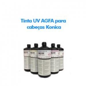 Tinta UV AGFA para cabeças Konica