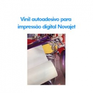 Vinil autoadesivo para impressão digital Novajet
